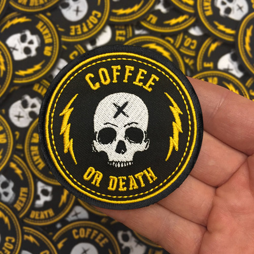 Coffee or Death patch by Seventh.Ink