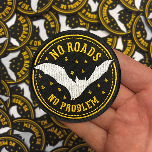 No Roads, No Problem patch by Seventh.Ink