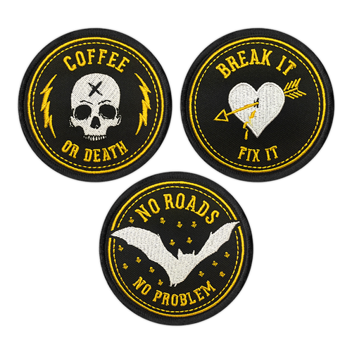 Badge Patch set by Seventh.Ink