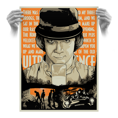 The Old Ultraviolence 18x24 Screen Print