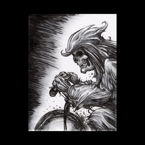 6X8 Original - BMX Reaper