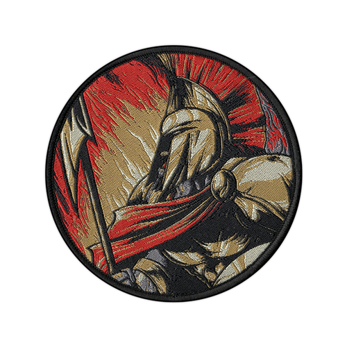 Spartan Woven Patch