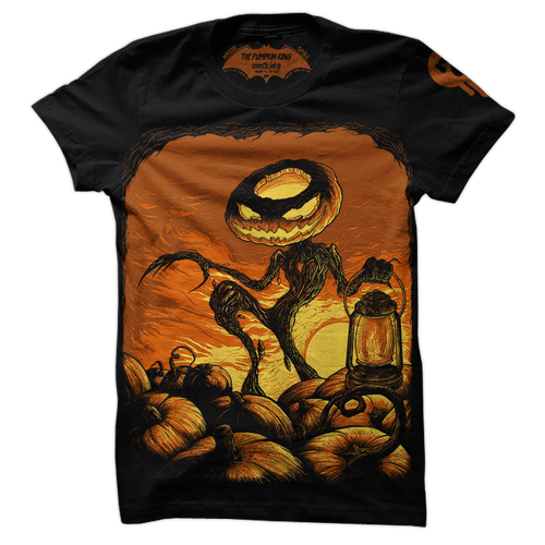 Pumpkin King shirt by Seventh.Ink