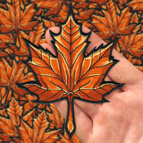 Maple Leaf patch by Seventh.Ink