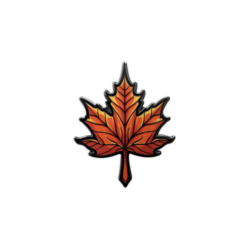 Maple Leaf Pin by Seventh.Ink