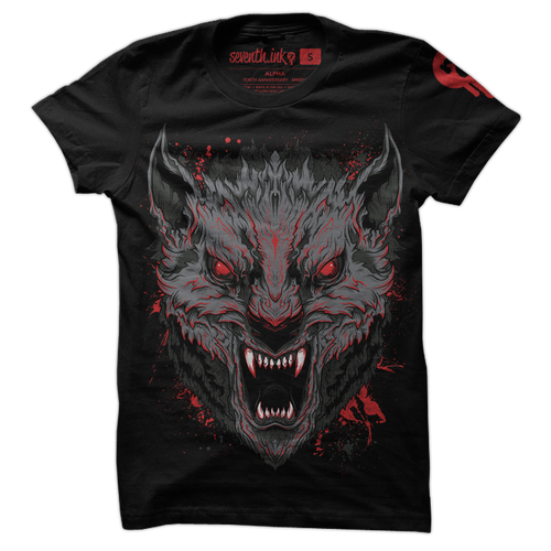 Alpha Wolf shirt by Seventh.Ink