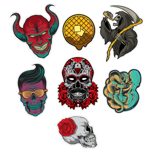Sticker Pack by Seventh.Ink