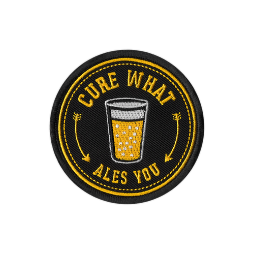 Cure What Ales You Patch by Seventh.Ink