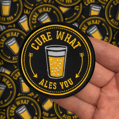 Cure What Ales You beer patch by Seventh.Ink