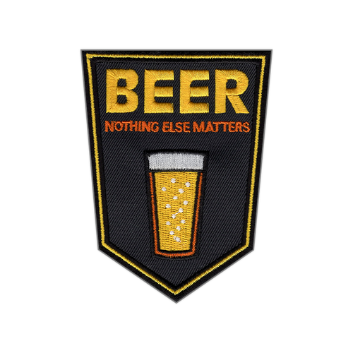 Beer: Nothing Else Matters patch by Seventh.Ink