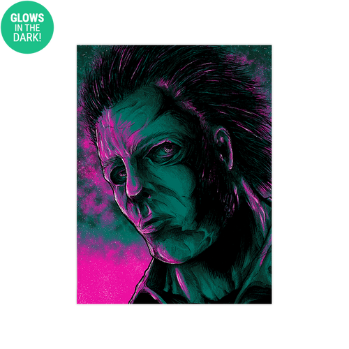9x12 Twilight Michael Myers Screen Print - Glows!