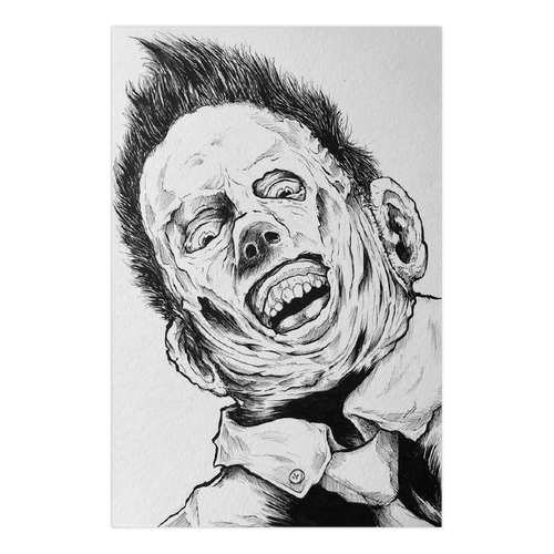 6X9 Original - Twilight Leatherface