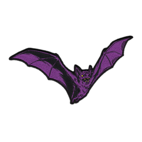 Large Purple Bat Patch by Seventh.Ink