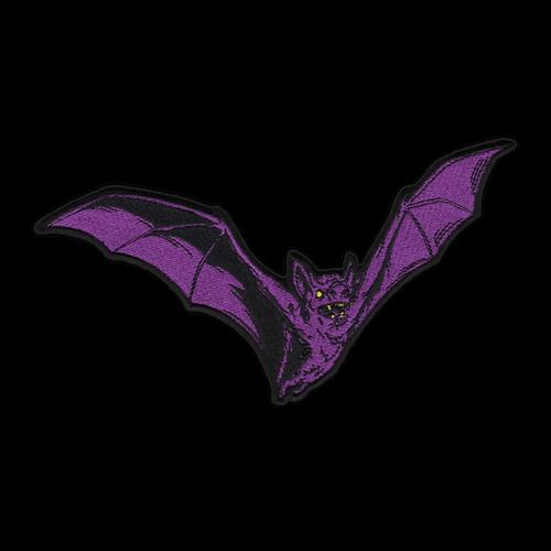 Large Purple Bat Patch by Seventh.Ink