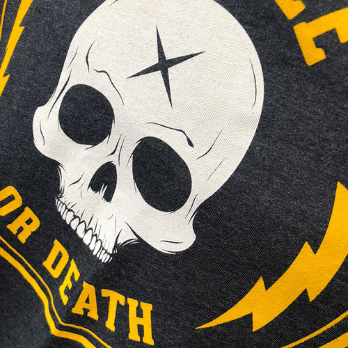 Coffee or Death unisex tank by Seventh.Ink