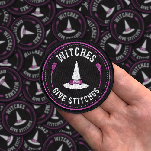 Witches Give Stitches Patch