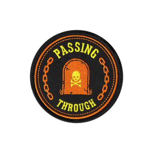 Passing Through Patch by Seventh.Ink