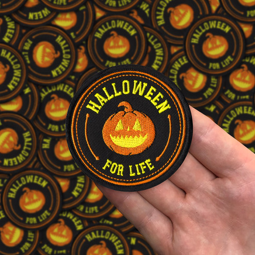 Halloween For Life Patch by Seventh.Ink