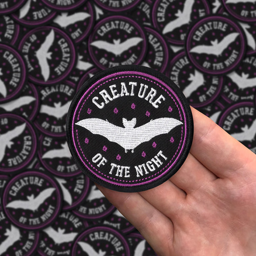 Creature of the Night patch by Seventh.Ink