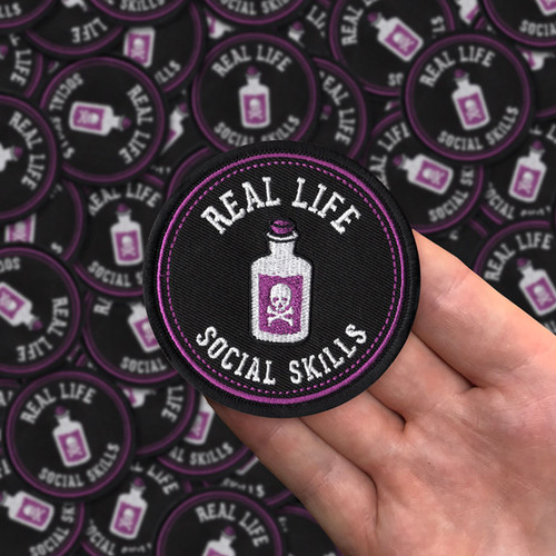 Real Life Social Skills patch by Seventh.Ink