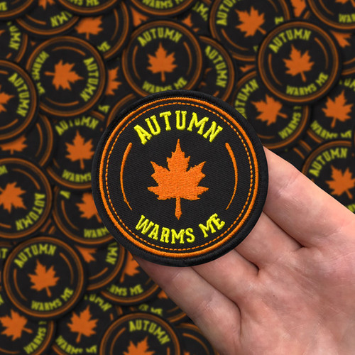 Autumn Warms Me patch by Seventh.Ink