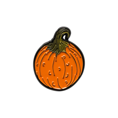 Pumpkin Enamel Pin