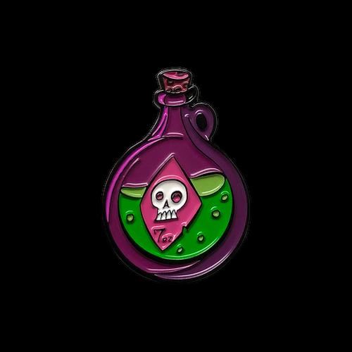 Round Potion Enamel Pin
