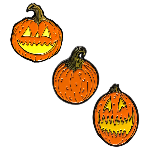 Pumpkins Enamel Pin Set