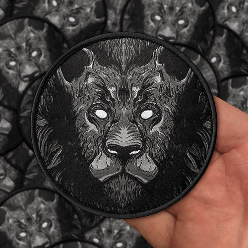 Lion Woven Patch by Seventh.Ink