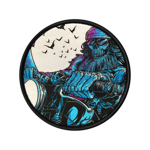 Midnight Rider Woven Patch by Seventh.Ink
