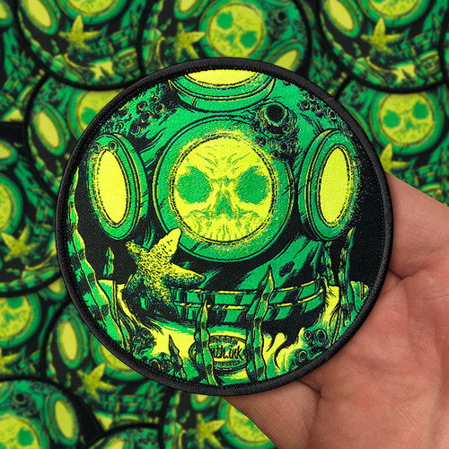 Diver Woven Patch by Seventh.Ink