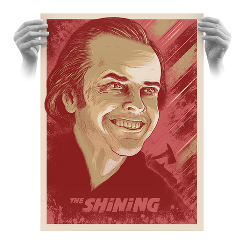 The Shining 18x24 Sweetheart Variant AP Screen Print