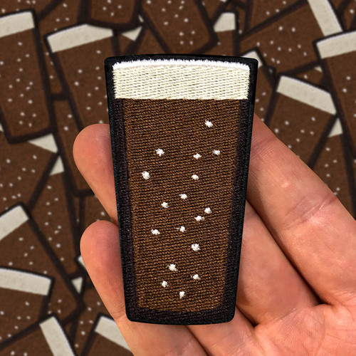 Stout Beer Pint Patch