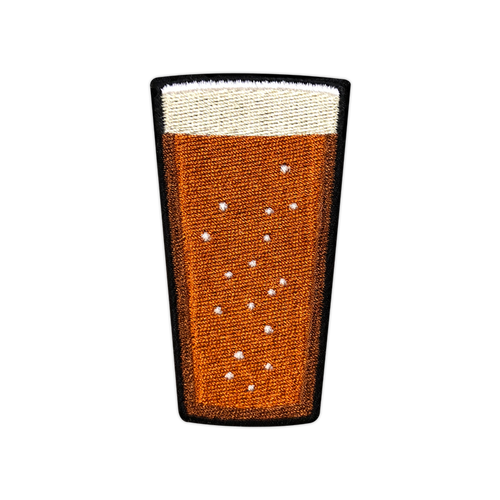 IPA Beer Pint Patch by Seventh.Ink
