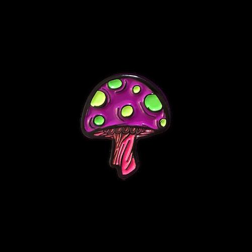 Xanion (Sorcerer) Mushroom Pin