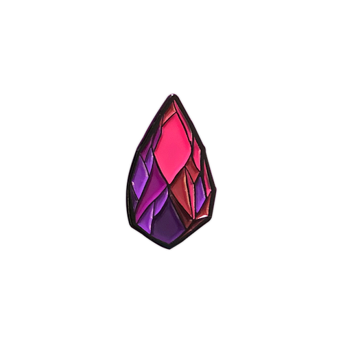 Xanion (Sorcerer) Crystal Pin by Seventh.Ink
