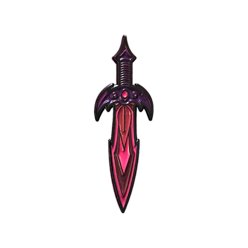 Xanion (Sorcerer) Dagger Pin by Seventh.Ink
