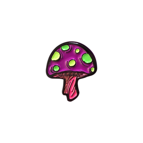 Xanion (Sorcerer) Mushroom Pin by Seventh.Ink
