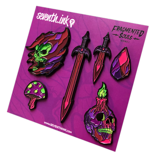 Xanion (Sorcerer) Pin Set