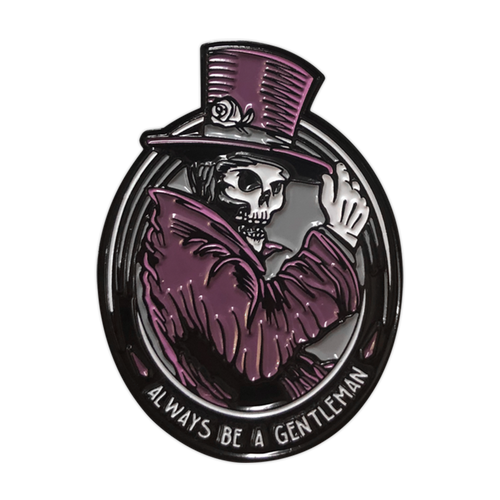 Gentleman Ghost Enamel Pin