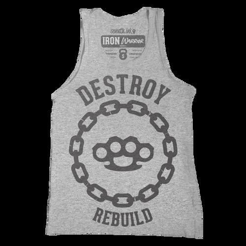 Destroy Rebuild Unisex Tank - Iron Warrior Series