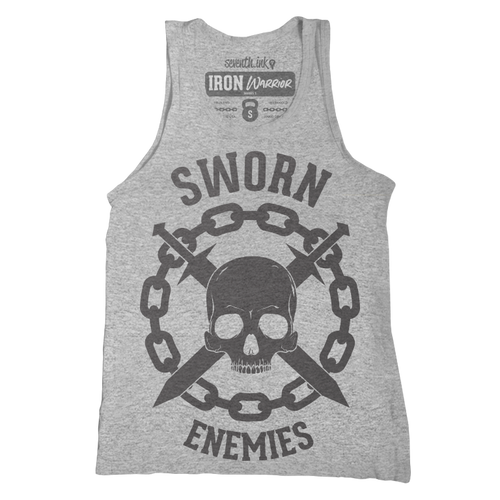 Sworn Enemies Unisex Tank - Iron Warrior Series
