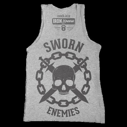 Sworn Enemies Unisex Tank - Iron Warrior Series