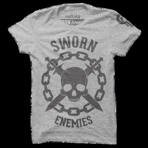 Sworn Enemies Shirt - Iron Warrior Series