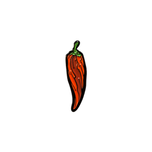 Red Pepper Enamel Pin by Seventh.Ink