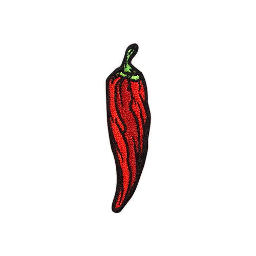 Red Pepper Patch by Seventh.Ink