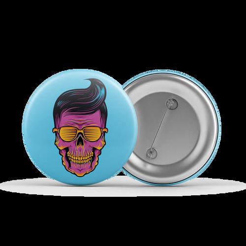 Sunshine Greaser Button