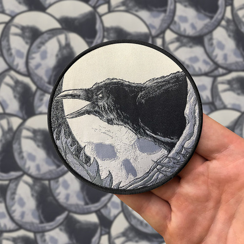 Nevermore Woven Patch by Seventh.Ink