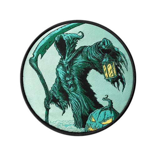 The Reaper Woven Patch by Seventh.Ink