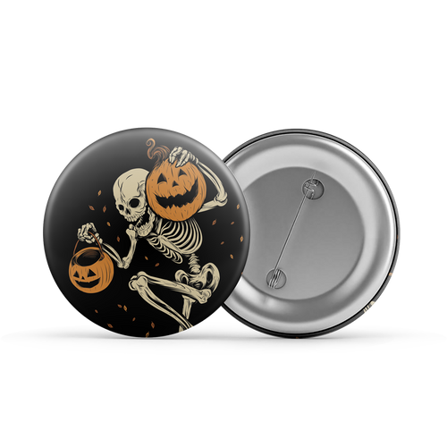 "Night of the Pumpkin 1.25"" Button"